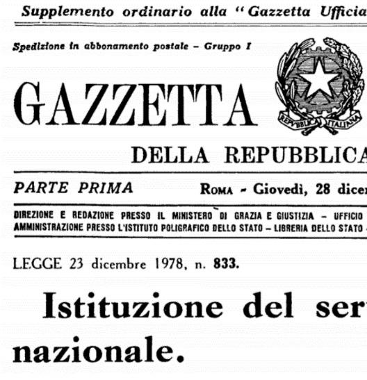 Con la legge 180 l'Italia abolisce i manicomi e promuove l'assistenza sul territorio