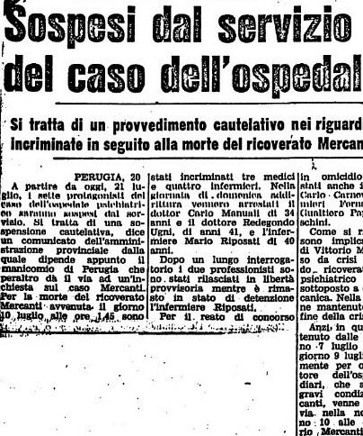 Il caso Vittorio M.